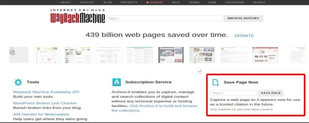 Mengarsipkan Suatu Website
